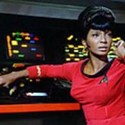 Lt Uhura Poster