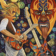 Lucha Rock Poster