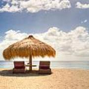 Lucian Beach Hut Poster
