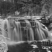 Ludlowville Falls In Winter I Poster