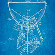 Ludwig Kettle Drum And Timpani Patent Art 1950 Blueprint Poster