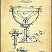 Ludwig Kettle Drum Drum Patent Drawing From 1941 - Vintage Poster