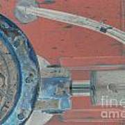 Lug Nut Wheel Left  Poster