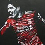 Luis Suarez - Liverpool Fc 2 Poster