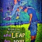 Luke 6 23 Poster