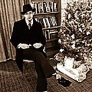 Luke On Christmas Eve Poster