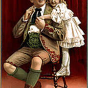 Lullaby Yodel Poster by Terry Reynoldson