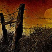 Luna De Sangre Poster by Karen Slagle
