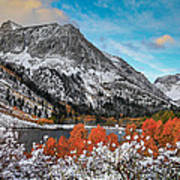 Lundy Lake Sunrise Poster