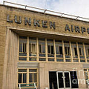 Lunken Airport In Cincinnati Ohio Poster
