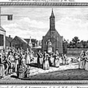 Lutheran Wedding, 1700s Poster by Granger