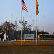 Lz Oasis 3d Brigade None Better Headquarters 4th Infantry Division Vietnam  1969 Poster