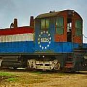 M A Patout Sugar Mill Train Poster
