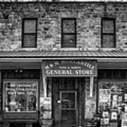 M And M Mercantile Bw Poster