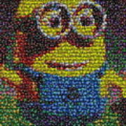 M And M Minion   Poster