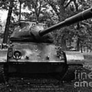 M47 Patton Tank Poster