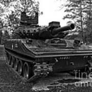 M551a1 Sheridan Tank Poster