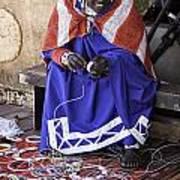 Maasai Woman Poster