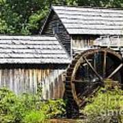 Mabry Mill Close Up Poster