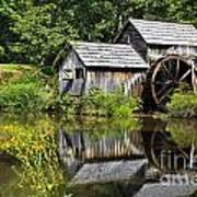 Mabry Mill In Virginia Poster
