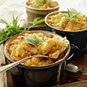 Macaroni And Cheese Infused With Poster