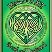 Macauley Soul Of Ireland Poster