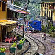Macchu Picchu Town - Peru Poster