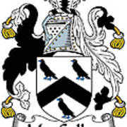 Maccullen Coat Of Arms Irish Poster