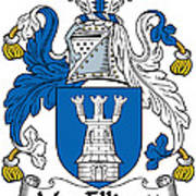 Macelligott Coat Of Arms Irish Poster