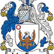 Macenery Coat Of Arms Irish Poster