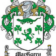 Macgarry Coat Of Arms Irish Poster