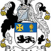 Macgilchrist Coat Of Arms Irish Poster
