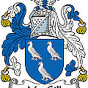Macgill Coat Of Arms Ulster Ireland Poster