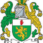 Macguinness Coat Of Arms Irish Poster