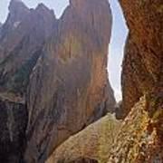 Machete Ridge From North Poster