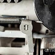 Machine Parts Poster