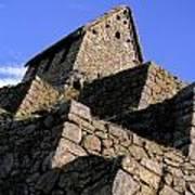 Machu Picchu Hut Peru Poster