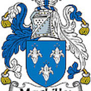 Maclilly Coat Of Arms Irish Poster