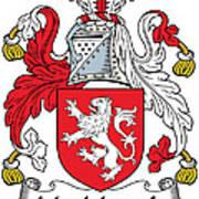 Macmorogh Coat Of Arms Irish Poster