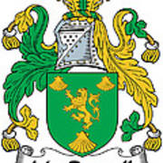 Macrannell Coat Of Arms Poster