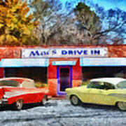 Mac's Drive In Poster