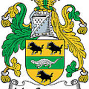 Macsweeney Coat Of Arms Irish Poster