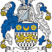 Macveagh Coat Of Arms Irish Poster