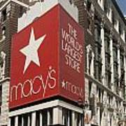 Macy's Department Store Poster