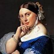 Madame Delphine Ingres Poster