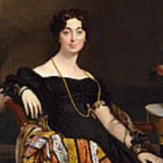 Madame Jacques-louis Leblanc. Francoise Poncelle Poster