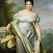 Madame Tallien 1773-1835 Oil On Canvas Poster