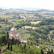 Madonna Di San Biagio Tuscany Poster