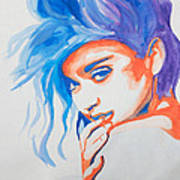 Madonna Poster by Michael Ringwalt