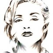 Madonna Poster by Wu Wei